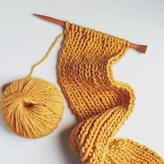 Strelitzia Scarf - Morgane Mathieu for We Are Knitters