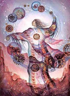 Dharmadhannya: Teia dos sonhos xamanismo . Primeira parte