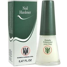 Quimica Alemana Nail Hardener 0.47 oz $7.19   Visit www.BarberSalon.com One stop shopping for Professional Barber Supplies, Salon Supplies, Hair & Wigs, Professional Product. GUARANTEE LOW PRICES!!! #barbersupply #barbersupplies #salonsupply #salonsupplies #beautysupply #beautysupplies #barber #salon #hair #wig #deals #sales #Quimica #Alemana #Nail #Hardener