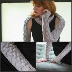 Are you a lover of all things intricate in your knitting? Do you find yourself craving cables? Find your next fix with Unexpected Cables! Shrug Knitting Pattern, Cable Knitting, Knitting Patterns, Knit Purl, How To Purl Knit, Fulton, Cold Weather, Plush, Arm