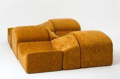 Bernard Govin, Asmara Modular Sofa (1966) | Artsy