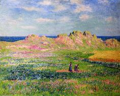 Henri Moret -  L'Ile d'Ouessant (2),  (1856-1913, France)