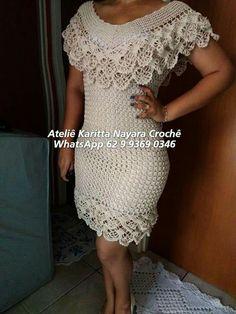 A lovely handmade pink crochet Crochet Stitches, Knit Crochet, Crochet Hats, Crochet Designs, Crochet Patterns, African Fashion Skirts, Boho Style Dresses, Crochet Cushions, Festival Wear