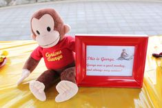Curious George Birthday Party Ideas | Photo 10 of 18 | Catch My Party