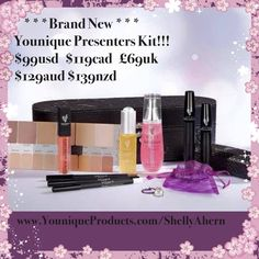 Check out the new presenter's kit for Younique! With the new shade match tool, you will be able to help your family and friends choose their correct color! 3d Mascara, 3d Fiber Lash Mascara, Big Lashes, Younique Presenter, When You Love, Starter Kit, Eyeshadow, Cosmetics, Beauty