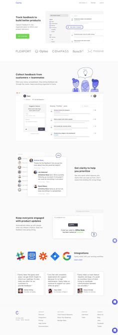Canny helps you collect and organize feature requests to better understand customer needs and prioritize your roadmap. Landing Page Inspiration, Web Design Inspiration, Customer Feedback, Ui Web, Web Layout, Prioritize, Page Design, Management, This Or That Questions