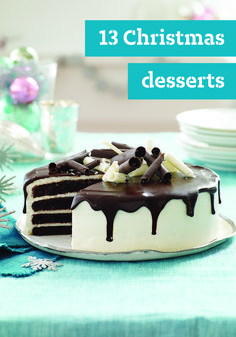 13 Christmas Desserts – Make this Christmas an especially scrumptious one with our sweet collection of classic Christmas desserts. If the oven's busy, our no-bake desserts are a must to try, or to really wow your guests, one of our impressive chocolate cake or cheesecake recipes is sure to do the trick.