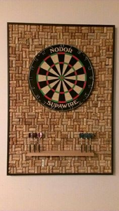 Entertainment Discover 10 Dart Board Ideas To Recreate In Your Own Home Dartscheibe Ideen Wine Cork Projects Wine Cork Crafts Wine Cork Art Basement Remodeling Own Home Game Room Home Projects Diy Crafts Crafty Wine Craft, Wine Cork Crafts, Wine Cork Art, Wine Cork Projects, Basement Remodeling, Own Home, Home Projects, Welding Projects, Diy Crafts