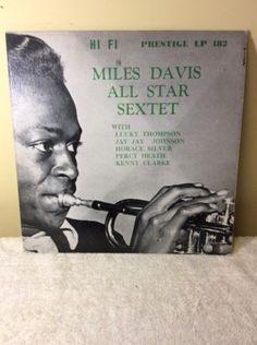 Miles Davis all star sextet ~ rare 1954 mono LP ~ w Horace silver ~ RVG ~ jazz in Music, Records   eBay