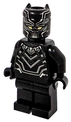 Lego Black Panther T'Challa Minifigure Marvel Avengers Super Hero - Civil War Version - Loose LEGO