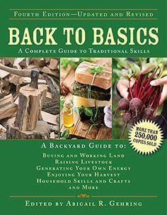 Buy Back to Basics at Mighty Ape NZ. Anyone who wants to learn basic living skills-the kind employed by our forefathers-and adapt them for a better life in the twenty-first century need l. How To Build A Log Cabin, Self Sufficient, Chicken Crafts, Thing 1, Survival Skills, Homestead Survival, Survival Gear, Survival Prepping, Survival Stuff