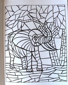 Creative Haven Animal Mosaics Coloring Book Books Jessica Mazurkiewicz