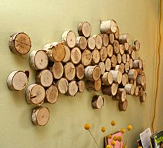 Google Image Result for http://sincerelyyoursjamie.files.wordpress.com/2012/02/diy-wall-art-from-wood-logs-1-500x455.png%3Fw%3D584
