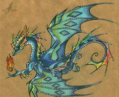 Colorful dragon