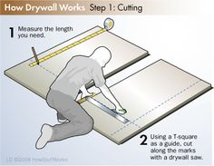 Most people would be surprised to learn that DIY drywall installation is quite easy. Learn more about DIY drywall installation on this page. Attic Renovation, Attic Remodel, Hanging Drywall, Drywall Finishing, Drywall Installation, Drywall Repair, Diy Home Repair, Home Repairs, Home Interior