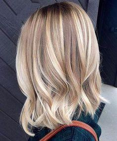 vanilla blonde balayage