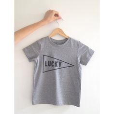 'Lucky' Screen Printed T-shirt