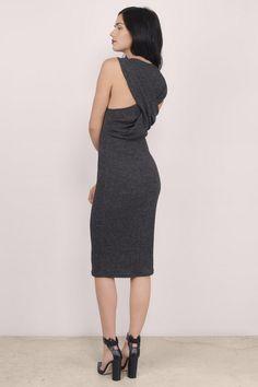 Twisted Truth Midi Dress at Tobi.com  | Must have Midi dresses at www.tobi.com | #SHOPTobi | #MidiMadness