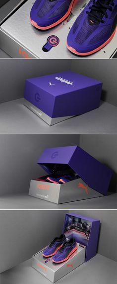Puma IGNITE — The Dieline   Packaging & Branding Design & Innovation News