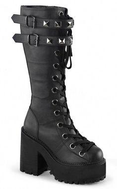 2c70420bbb8 Demonia Assault 202 4 Block Heel