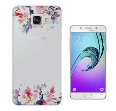 c0353 - Cute Floral Shabby Chic Fleurs Design Samsung Galaxy A3 -(2016 Modèle) Fashion Trend Protecteur Coque Gel Rubber Silicone protection Case Coque: Amazon.fr: High-tech