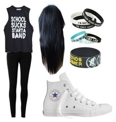 """""""Untitled #14"""" by riasoccer on Polyvore featuring Max Studio and Converse"""