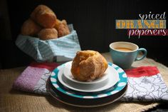 Spiced orange popovers that apparently make your house smell like a high-end Chirstmas candle.
