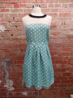 Loving this polka dot dress from Twisted Simplicity for spring!