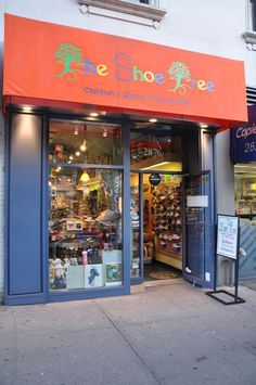 Shoe Tree at 2876 Broadway. Cute family-owned and operated children's shoe store. They offer seasonal products, and many name brands and smaller labels as well.