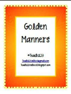 FREE Does your class suffer from cabin fever? Symptoms include: frequent tattling, blurting out during lessons, and irritability. If so, it's time for a lesson on the Golden Rule. This is a lesson that you can make as simple or as elaborate as you want. Suggestions are included with this packet.