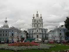 Smolny Cathedral, St. Petersburg, Russia