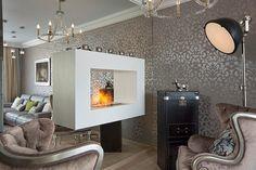 Szürke és bézs, minőségi anyagok, elegáns lakberendezés egy 126nm-es szép lakásban