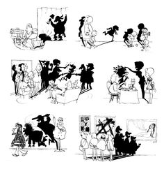 """I love comic covers • """"The Shadow knows"""" by Sergio Aragonés."""
