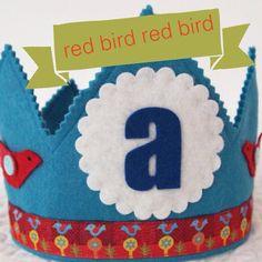Waldorf Felt Birthday Crown - Boys first Birthday Crown on Etsy, $32.00