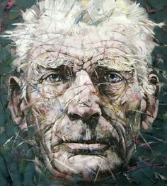 """Saatchi Online Artist Alexander Ilichev; Painting, """"BECKETT"""" #art"""