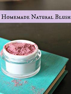 homemade blush