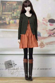 M-201112-13 khaki cardigan