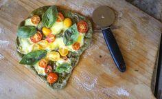 Spinach Pizza Dough (Thermomix)