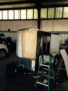 Enclosed Trailer Camper Conversion, Enclosed Trailers