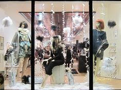 Recent Project: Shopgirls Holiday Window | recreative works blog