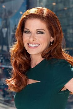Debra Messing This actress has been rocking red hair since her Will & Grace days, and as they say, if it ain't broke, don't fix it.