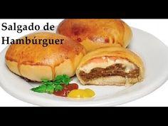Como Fazer Salgado de Hambúrguer $$ Receitas Fácil $$ - YouTube
