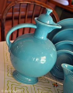 The Little Round Table: Vintage Turquoise❤❤❤