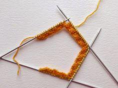 Beginner sock knitting: Sockalong - Week 1 - Cast on, cuff and leg : Beginner so. Beginner sock knitting: Sockalong – Week 1 – Cast on, cuff and leg : Beginner sock knitting: So Beginner Knitting Patterns, Knitting For Beginners, Knitting Stitches, Knitting Projects, Knitting Tutorials, Knitting Machine, Sock Knitting, Easy Knitting, Vintage Knitting