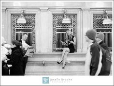 ©Janelle Brooke Photography 2013 / engagement session / e-session / grand central station / nyc