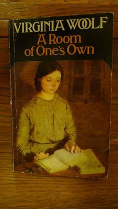 """A Room of Ones Own.""""Virginia Woolf 's argument for both a literal and figural space for women writers within a literary tradition dominated by patriarchy. Literature Books, Classic Literature, Book Authors, I Love Books, Good Books, Books To Read, My Books, Virginia Woolf, Room Of One's Own"""