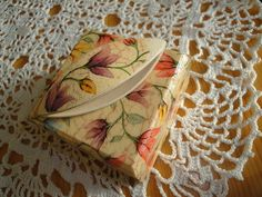 Birds eye tatting shuttle with flower in a gift box   Flickr - Photo Sharing!