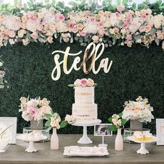 Quinceanera Party Planning – 5 Secrets For Having The Best Mexican Birthday Party Deco Baby Shower, Baby Shower Vintage, Bridal Shower, Baby Shower Desert Table, Fancy Baby Shower, Baby Shower Roses, Baby Shower Backdrop, Sweet 16 Birthday, First Birthday Parties