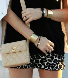 Леопардовые шорты