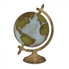 Sizzix Bigz Die - Vintage Globe